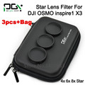 PGY DJI Phantom 4 3 DJI Inspire 1 DJI OSMO  Professional Advanced Camera Lens Star Filter 4-Point  6-Point  8-Point  with bag