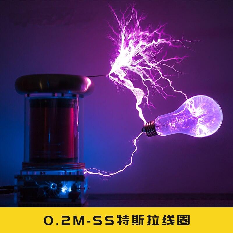 0 2M Solid State Tesla Coil Music Tesla Coil Lightning Storm LIGHTNING STORM