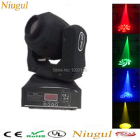 New 60w Gobos Spot Light Led Moving Head Light 7 Colors Led Stage Spots Light For