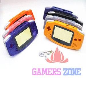 Image 2 - การเปลี่ยนชิ้นส่วนอะไหล่เปลือกสำหรับ Nintendo Game Boy Advance GBA สีฟ้าใส
