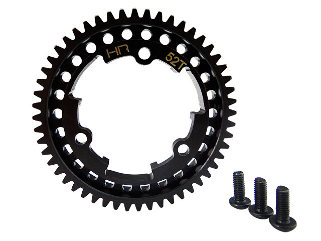 46T / 50T / 52T / 54T M1 hardened steel Mod1 (1.0 metric pitch) spur gear for the Traxxas X-Maxx and XO-1 vehicles