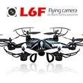 Negro RC Drone FPV En Tiempo Real 4CH 6 Asix Hexacopter Gyro Helicóptero con Cámara de 2MP Sin Cabeza envío gratis
