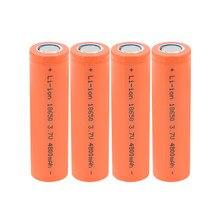 Batterie Lithium-ion Rechargeable 18650, 3.7 v, 4800 mah, pour lampe frontale, jouets, 1 à 10 pièces