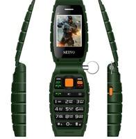 Three SIM Original Phone SERVO V7 2 4 3 SIM Card 3 Standby Mobile Phone Flashlight