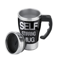 Superior Quality1Pc Stainless Lazy Self Stirring Mug Auto Mixing Tea Coffee Cup Office GiftStylish