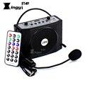 Altavoz con auriculares voz amplificador de Audio de megáfono portátil altavoz USB MP3 jugador enseñanza guía turístico