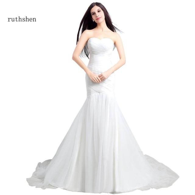 Aliexpress.com : Buy ruthshen Cheap Mermaid Wedding Dresses 2017 ...