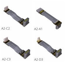 HDMI Cable 270/90 Degree Angle to 5cm-1m 2.0 60Hz 4K 3D for TV PS3 Projector Computer FPV A2