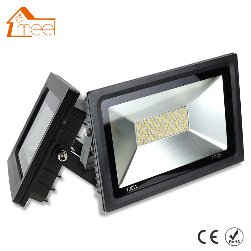 220V <font><b>LED</b></font> <font><b>FloodLight</b></font> 15W 30W <font><b>60W</b></font> 100W Reflector <font><b>LED</b></font> Flood Light Waterproof IP65 Spotlight Wall Outdoor Lighting Warm/Cold White image