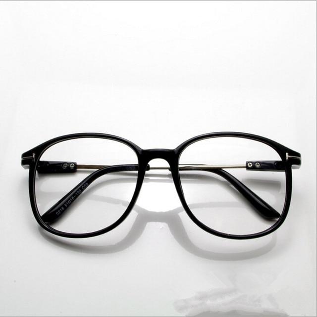 9a486cf35d277 2017 Mulheres Óculos de Miopia Retro Vidros Ópticos Quadro Marca Design  Quadrado Do Vintage Plain Eye