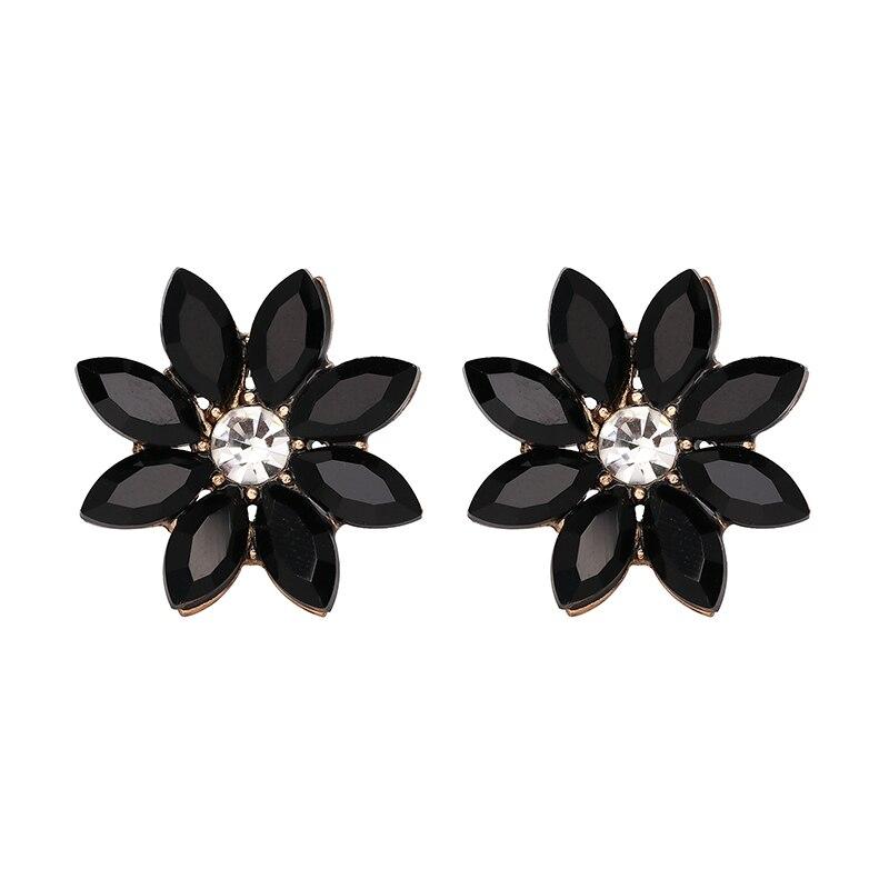 JURAN HOT SALE 2018 Luxury Retro Crystal Stud Earrings with opal Stone Women Fashion Trend Statement Jewelry For Women 19 Styles