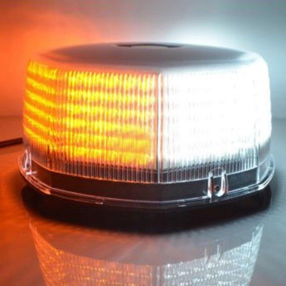 XYIVYG 240 Ambre/Blanc Ampoules Haute Luminosité LED Lumières Stroboscopiques Urgence Danger Lampe Camion Véhicules de Toit Top Clignotant lumière
