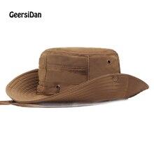 GEERSIDAN 2019 Summer Bucket Hat for men women Fashion big Wide Brim fishing hats brand Casual Hiking Sombrero Gorro sun hats