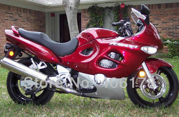 Cheap GSXF750 05 06 ABS fairing For GSXF 750 2005 2006 Red Motorcycle Bodywork Fairings Kit