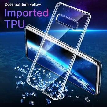 Baseus Case For Samsung Galaxy S10 Plus Ultra Slim Transparent Soft TPU Silicone Back Cover For Samsung S10 S10Plus Coque Fundas