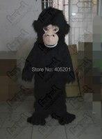ลิงมิ่งขวัญเครื่องแต่งกายตัวละครสีดำขน