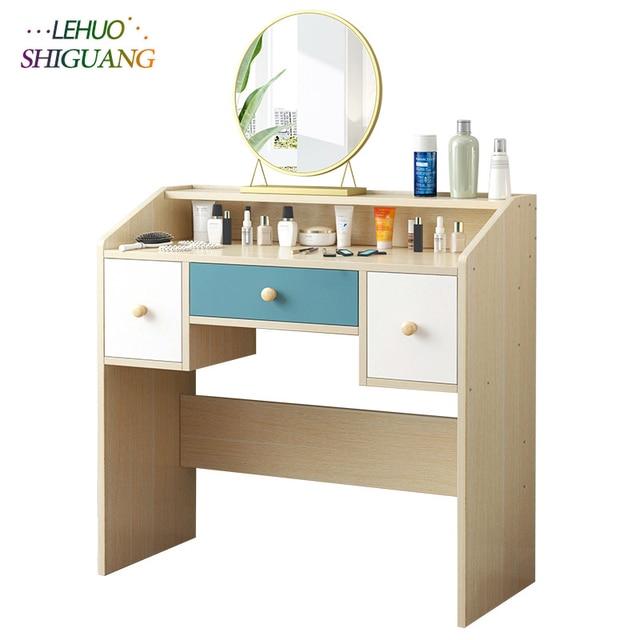Schlafzimmer Kommoden Holz Dressing tisch Mit schublade kosmetische  veranstalter schrank mode Laptop schlafzimmer Möbel