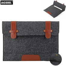 Jacodel WoolFelt Laptop computer Sleeve Bag 11 12 13 14 15 inch Pocket book Sleeve Case for Macbook Air Asus HP Xiaomi 12.5 13.Three Laptop computer Luggage