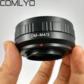 Объектив Адаптер Для Olympus OM lens To Micro 4/3 m4/3 Адаптер для E-P1 E-P2 E-P3 G1 GF1 GH1 G2 GH2 GF2 G3 GF3 Камеры аксессуары