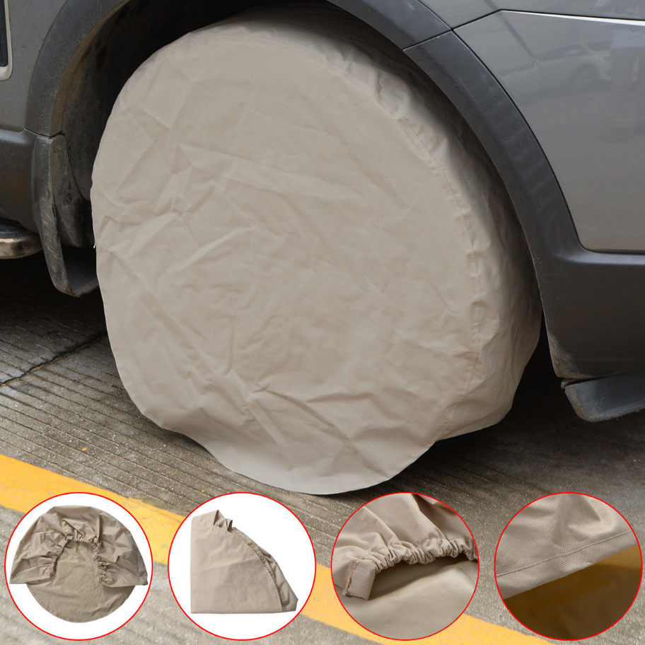 New 4pcs Wheel Tire Covers Trailer Camper Car Truck Motor Home Wheel  Protecting Tires Tire Accessories. Popular Canvas Camper Buy Cheap Canvas Camper lots from China