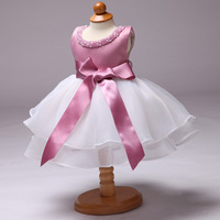 1 Year Toddler Girl Baptism Dress Baby Girl Birthday Dresses For Girls Kids Wedding Party Wear
