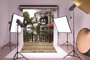 Image 3 - خلفية من القماش لصور المدينة المائية من الصين حاسوب مطبوع ستارة خلفية للتصوير الفوتوغرافي للأطفال في حفلات الزفاف للاستوديو
