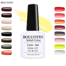 HOT SALE 29 COLORS Macaron Gel Nail Polish Lucky Gel Nails Varnish Soak Off UV Led Lamp Nail Art Soak Off Organic UV Gel 8ML elite99 6 colors uv led soak off gel nail polishing set