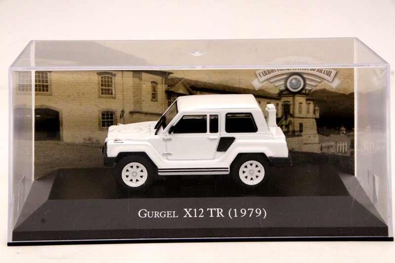 IXO Altaya 1:43 Scale Gurgel X12 TR 1979 Car Diecast Models Limited Edition Collection White