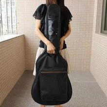 Новое поступление модный портативный 38-41 дюймов Акустическая классическая сумка для гитары с двумя ремешками мягкий плотный чехол для гитары рюкзак