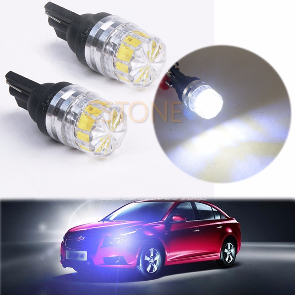 1 PC  New White 5050 5 SMD LED Car Vehicle Side Tail Lights Bulbs Lamp