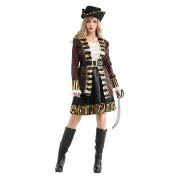Adult Women Pirates of the Caribbean Halloween Costume 1