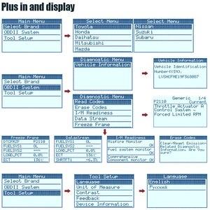 Image 4 - Ancel JP700 JOBD OBD2 tarayıcı için japon araba için otomotiv teşhis aracı Toyota Nissan Honda Mazda Mitsubishi tarayıcı aracı