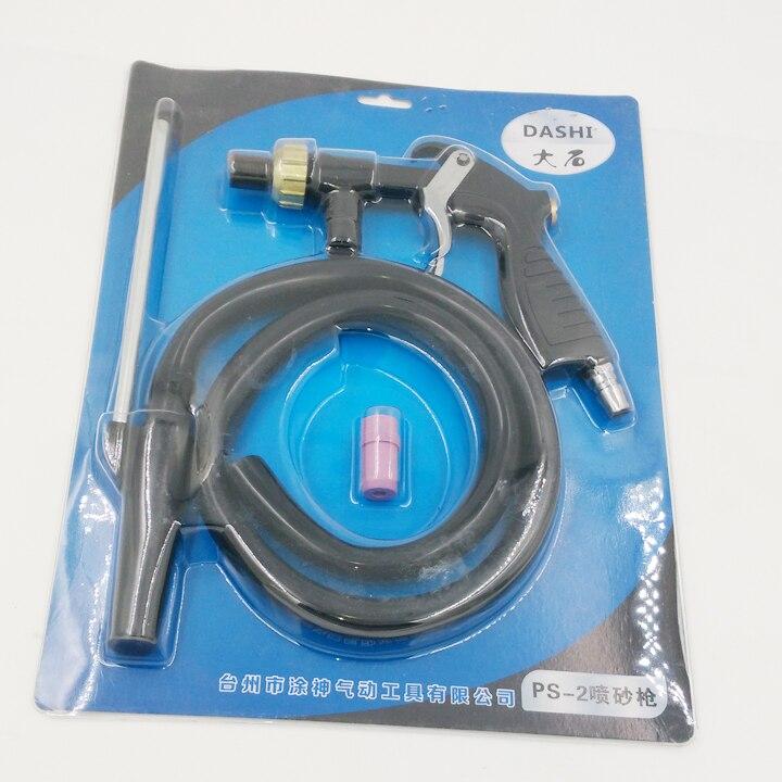 HIGH QUALITY Sandblasting Gun Kit with 3 nozzles high quality sandblasting gun kit with 3 nozzles