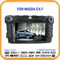 """7 """"Car DVD Player GPS de Navegação Bluetooth TV Controlador volante DVB/ISDB (opcional) Para Mazda CX7 CX-7 CX 7"""