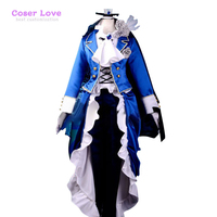Black Butler Ciel Lolita Cosplay Costume Deluxe KH11 Halloween Christmas Costume