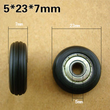 Free shipping 10 pcs Nylon move Windows and doors rollers