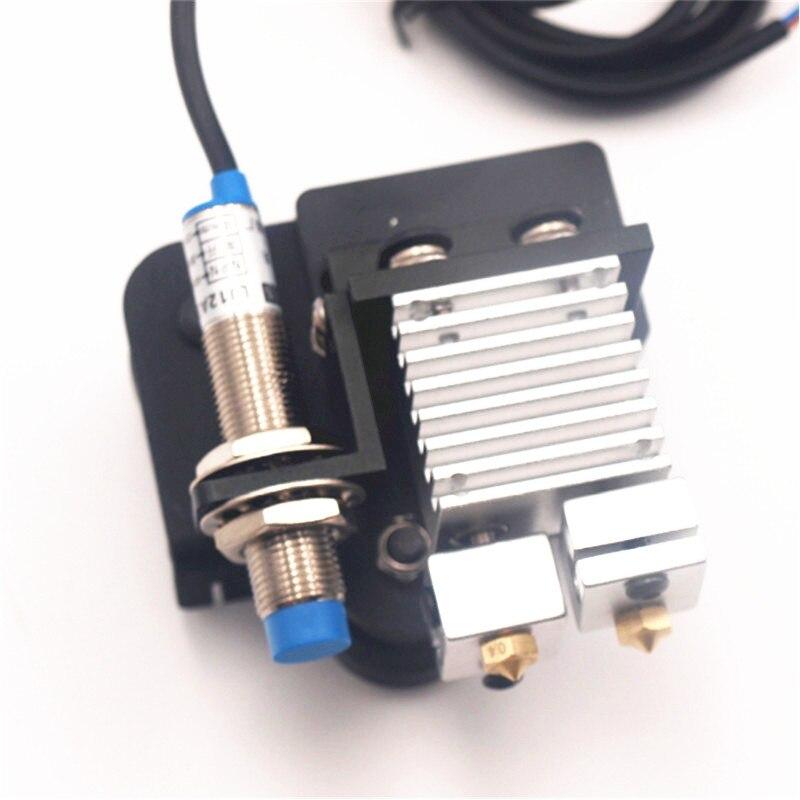 Funssor mise à niveau créalité CR-10/tornade chimère/cyclope double extrudeuse montage en aluminium avec adaptateur de niveau automatique