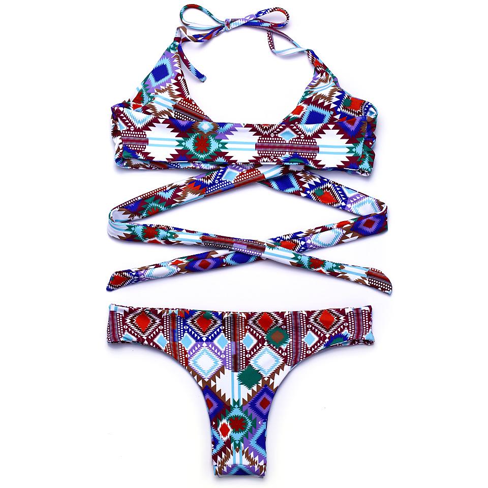 HTB1EpPyPVXXXXcOXpXXq6xXFXXXG - FREE SHIPPING Swimsuit Sexy Halter Swimwear Women Bathing Suit Push Up Strappy Bikini Set JKP268