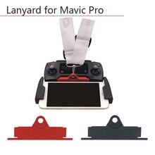 คอเชือกสลิงตะขอแขวนรีโมทคอนโทรล Hang Buckle Lanyard ผู้ถือเข็มขัดสำหรับ DJI Mavic pro Platinum Air Mavic 2 ซูม
