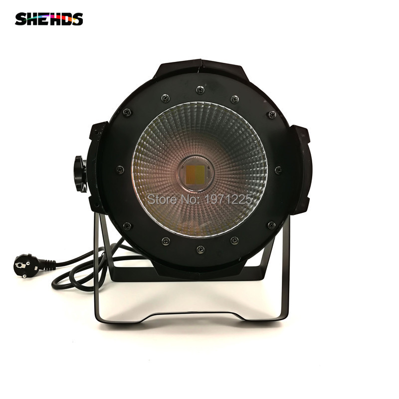 Led Par Light COB 100W COB Strobe Effect Stage Lighting with cool white and warm white freeshipping 4pcs dmx 100w cob warm yellow warm white led dj par light 100 wart dmx512 control mater slave stage lighting effect