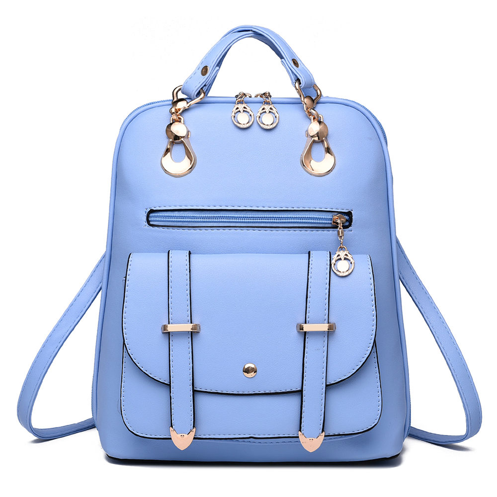 2017 Hot Women Fashion Casual PU Leather Backpack Multifunction Lady Shopping Travel School Shoulder Bag Cute
