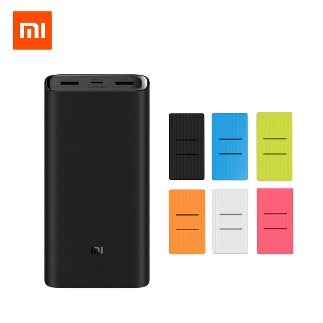 2019 Новый Xiaomi Mi 20000 mAh Мощность банка 3/2C USB-C 45 W Портативный Зарядное устройство Dual USB 20000 mAh Мощность банк Комплекты внешних аккумуляторов