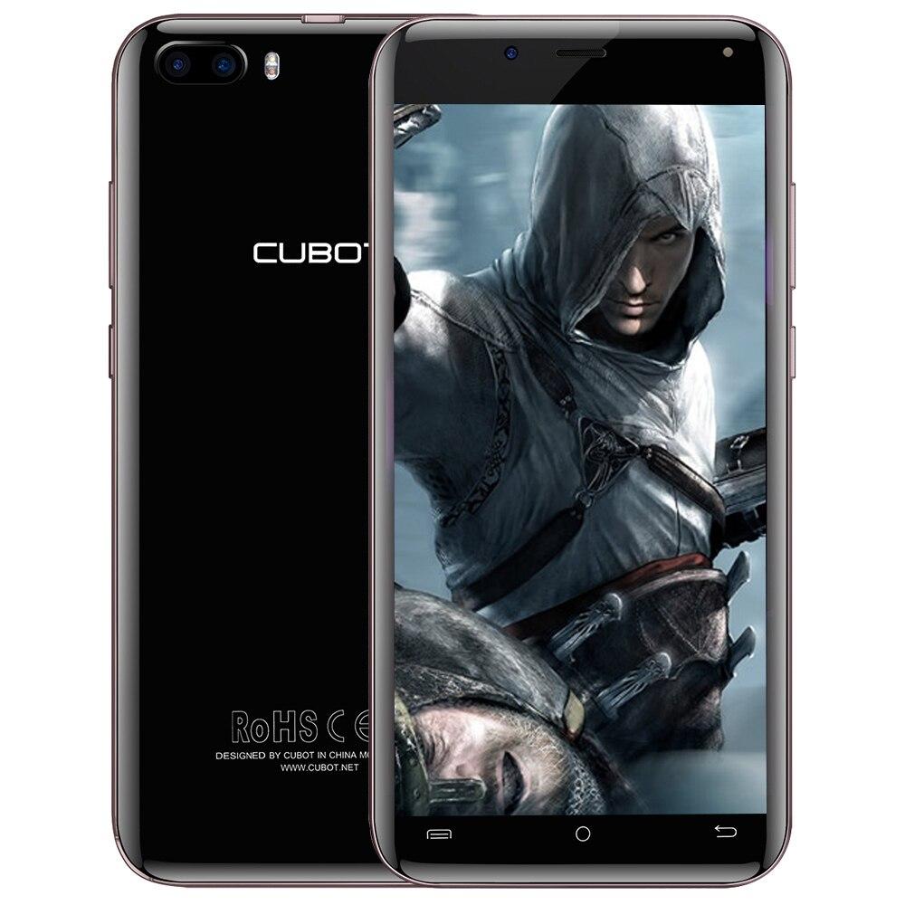 CUBOT Magique 4g Smartphone Android 7.0 5.0 pouce MTK6737 Quad Core 1.3 ghz 3 gb RAM 16 gb ROM 13.0MP Double Arrière Caméras Mobile Téléphone
