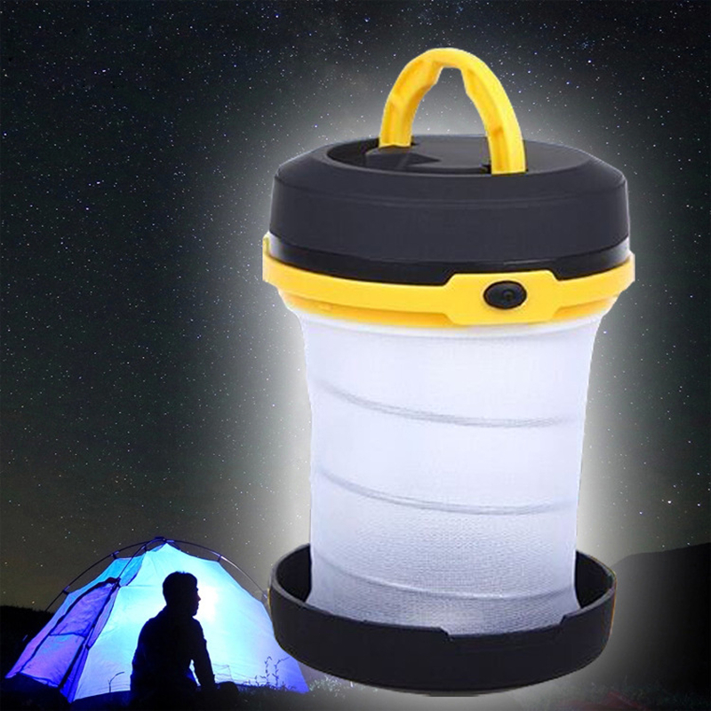 More Function Solar Energy G85 6led Outdoors Barbecue Picnic Lanterns Flexible Tent Lamp Stretching Camping Round Small Light Sports & Entertainment