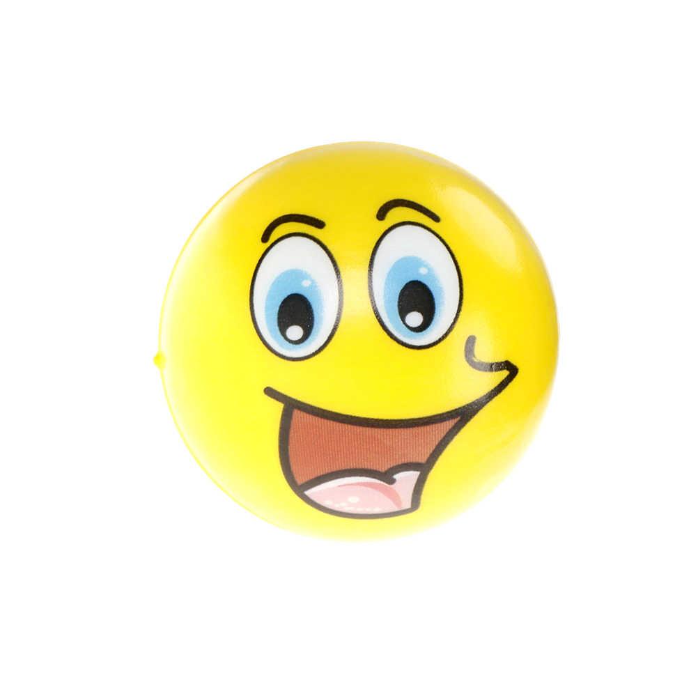 Xốp Mềm Khuôn Mặt & Bi Da Bóp Lại Căng Thẳng Tay Cổ Tay Ngón Tay Giảm Căng Thẳng Dùng Mềm Antistress Kid Đồ Chơi 6.3 Cm