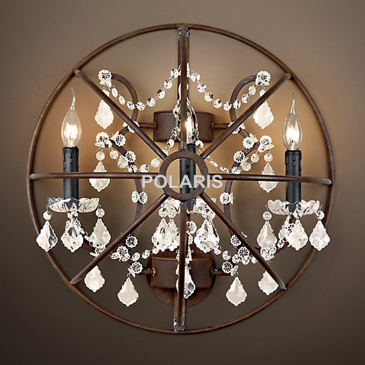 Online get cheap wall mounted chandelier for Chandelier mural antique