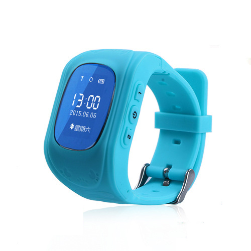 Montre téléphone intelligent enfants enfant montre-bracelet GPS Tracker montres intelligentes Anti-perte Smartwatch appareils portables pour iOS Android Q50