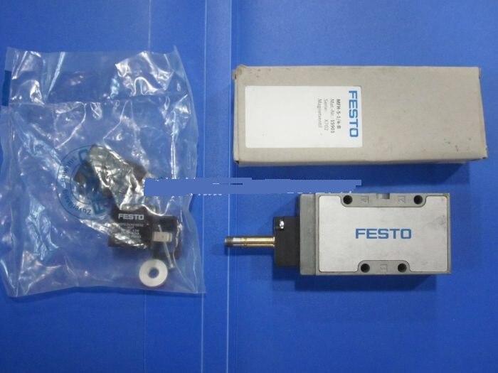 GERMAN FESTO solenoid valve / Tiger valve MFH-5-1/4-B  15901 pc400 5 pc400lc 5 pc300lc 5 pc300 5 excavator hydraulic pump solenoid valve 708 23 18272 for komatsu