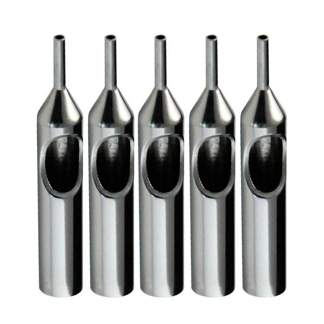 ITATOO 10pcs 3RT Professional Aerogragh Tattoo Stainless Steel Tips Tubes Mixed Supply For Tattoo Machine Kits Cheap N509-3RT