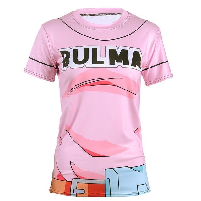 Dragon Ball Saiyan Goku Super Vegeta 3D Print Women's Summer Casual T-shirt